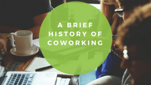 Coworking history
